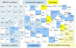 Coalitions map May 2016